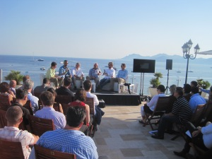 Sea side agency trading desk panel #CannesLions